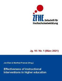 Effectiveness of instructional interventions in higher education