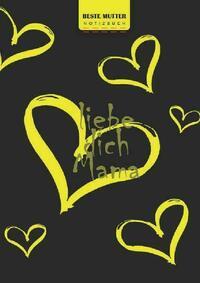 Glücklicher Muttertag, beste Mutter Schreiben Sie in Notizbuch, 180 Seiten, breite gepunktete gepunktete Linien, Ringbindung (Buch 4)