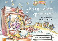 5er-Pack: Mal die Bibel bunt - Jesus wird geboren