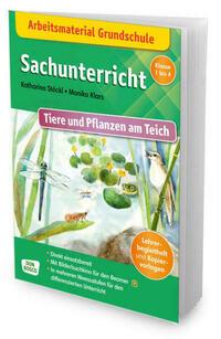 Arbeitsmaterial Grundschule. Sachunterricht. Tiere und Pflanzen am Teich.