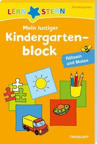 Mein lustiger Kindergartenblock. Rätseln und...
