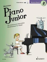 Piano Junior: Konzertbuch 3
