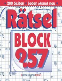 Rätselblock 257 (5 Exemplare à 2,99 €)