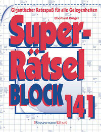 Superrätselblock 141 (5 Exemplare à 3,99 €)
