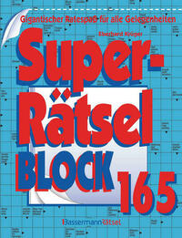 Superrätselblock 165 (5 Exemplare à 3,99 €)