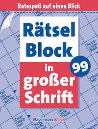 Rätselblock in großer Schrift 99 (5 Exemplare à 2,99 €)