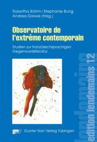 Observatoire de l'extrème contemporain