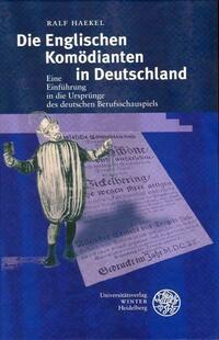 Die Englischen Komödianten in Deutschland