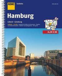 ADAC Stadtatlas Hamburg mit Lübeck,...