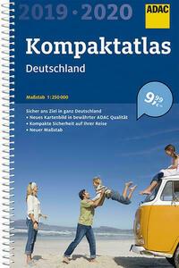 ADAC Kompaktatlas Deutschland 2019/2020 1:250 000