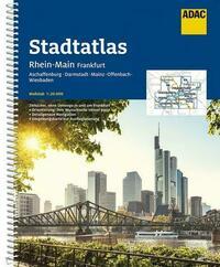 ADAC Stadtatlas Rhein-Main, Frankfurt 1:20 000