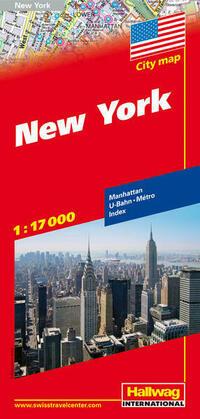 New York Stadtplan 1:17 000