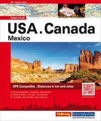 USA/ Canada/ Mexico Strassenatlas