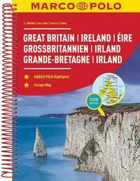MARCO POLO Reiseatlas Großbritannien, Irland...
