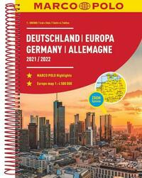 MARCO POLO ReiseAtlas Deutschland 2021/2022 1:300 000