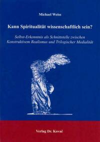 Kann Spiritualität wissenschaftlich sein?