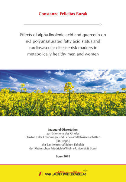 EFFECTS OF ALPHA-LINOLENIC ACID AND QUERCETIN ON N-3