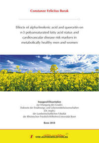 Effects of alpha-linolenic acid and quercetin...