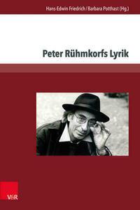 Peter Rühmkorfs Lyrik