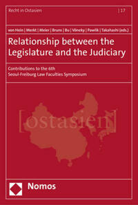 Relationship between the Legislature and the Judiciary