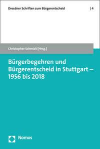 Bürgerbegehren und Bürgerentscheid in Stuttgart - 1956 bis 2018