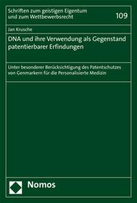 DNA und ihre Verwendung als Gegenstand...
