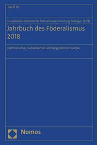 Jahrbuch des Föderalismus 2018