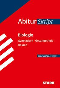 AbiturSkript - Biologie - Hessen