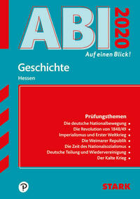 Abi - auf einen Blick! Geschichte Hessen 2020