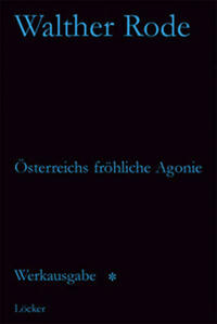 Werkausgabe Walther Rode. Band 1-4