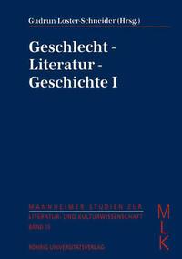 Geschlecht - Literatur - Geschichte I