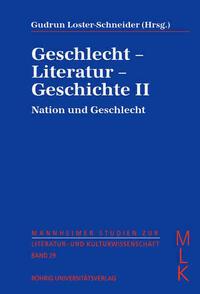 Geschlecht - Literatur - Geschichte II
