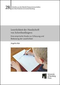 Leserlichkeit der Handschrift von Schreibanfängern