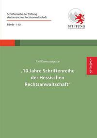 Jubiläumsausgabe - 10JahreSchriftenreihe