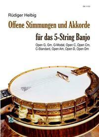 Offene Stimmungen und Akkorde für das 5-String Banjo