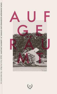 Forum Hamburger Autorinnen und Autoren. 23. Jahrbuch