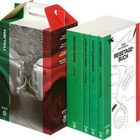 SZ Literaturkoffer Italien | Bücher Set | Literatur-Sammlung mit Svevo, Balzano und Fava | 4 Taschenbücher