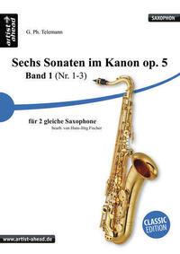 Sechs Sonaten im Kanon - Band 1 - für zwei...