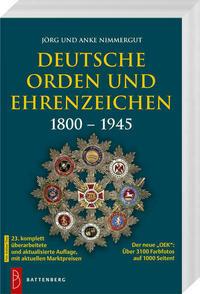 Deutsche Orden und Ehrenzeichen 1800 – 1945