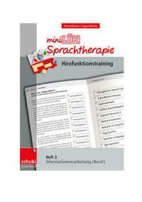 Schubi-LÜK-Sprachtherapie Erwachsene / miniLÜK-Sprachtherapie - Hirnfunktionstraining