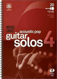 Acoustic Pop Guitar Solos 4