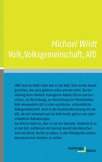 Volk, Volksgemeinschaft, AfD