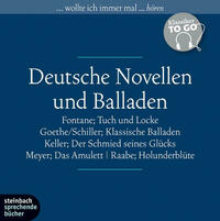 Deutsche Novellen - ausgewählte Novellen und Balladen