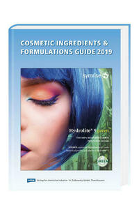 Cosmetic Ingredients & Formulations Guide 2019