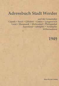 Adressbuch der Stadt Werder 1949