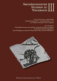 Archäologische Studien zu Naukratis - Band III
