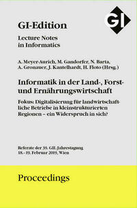 GI Edition Proceedings Band 287 Informatik in...