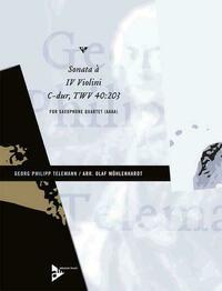 Sonata à IV Violini C-Dur