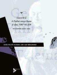 Concerto à 4 Violini senza Basso A-Dur
