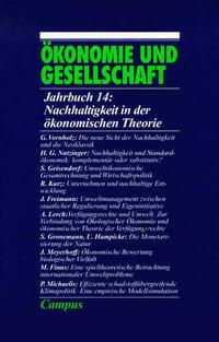 Ökonomie und Gesellschaft / Nachhaltigkeit in der ökonomischen Theorie